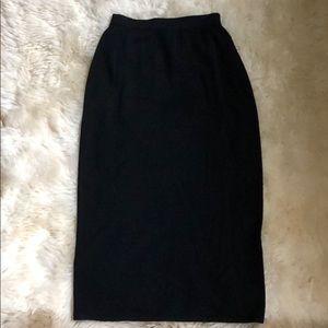 St John Basics black skirt